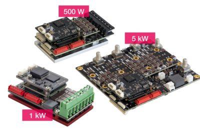 Servo Nodes with 500W, 1kW and 5kW