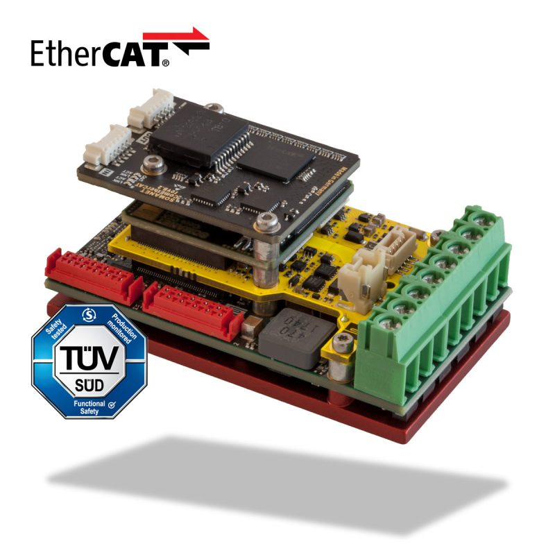 Synapticon SOMANET Servo Node 1000 ECAT Safety TUV EC