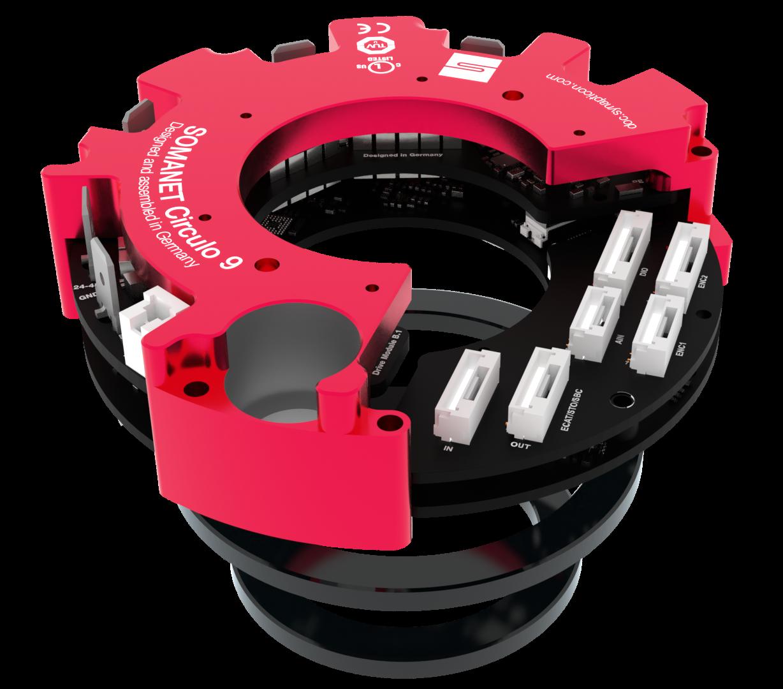 robot motion control - SOMANET Circulo Servo Drive